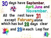 Lesson 2: Calendars