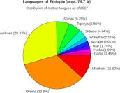2 most commonly spoken languages...
