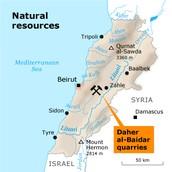 Natural Resource Map