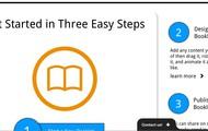simplebooklet home screen