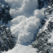 Avalanche in India
