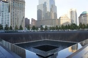 The memorial for the Twin Towers