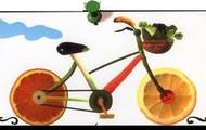 la bicicleta saludable.