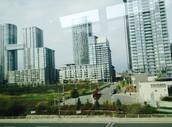 High-density residential land-use.