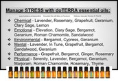 Lots of options to help relieve stress.