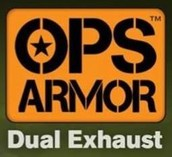 OPS Armor Dual Exhaust