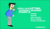 whats the symptoms of asthma?