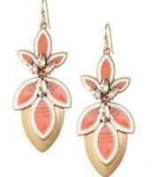 Hibiscus 3 in 1 Earring - $25