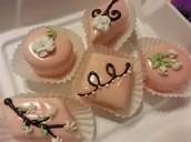 poured fondant cupcakes