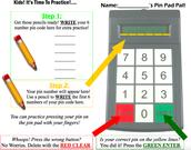 Pin Pad Practice