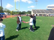 Students participate at George Green Field Day