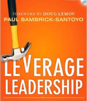 Main Idea:  Leverage Leadership