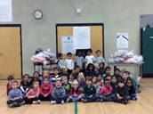 Kindergarten with 381 pounds of candy!!!
