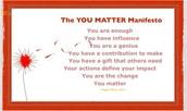 #You Matter!