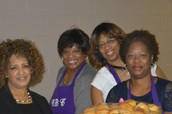 Beautiful Concord Sisters Serving with a Smile