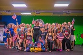 KETTLEBELL HOT SPOT CONGRATULATES TEAM