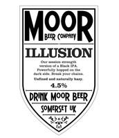 Moor Beer Illusion Black IPA