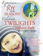 Dec. 7th - Twilights at Chimney Park, 5:00-7:30pm