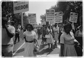 African American During the women's right movement