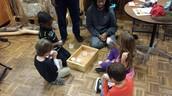 Five senses Experiments were a blast!