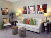 Open Space Living and Dining Areas!