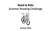 Read to Ride Challenge