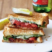"#2  ""GROWN-UP"" GRILLED CHEESE SANDWICHES"