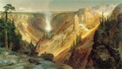 Grand Canyon of the Yellowstone, 1872