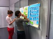 Lots of post-its...
