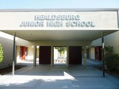 Healdsburg Jr. High location and contacts.