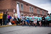 Start of the 8th annual race!