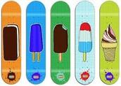 I like to skateboard