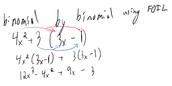 Binomial by Binomial