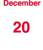Mi cumpeaños es la 20 de deciembre 1998.