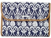 Hang On a Navy Ikat