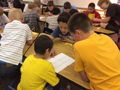 6th Graders Team up with First Grade