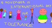 November 16th - International Day of Tolerance