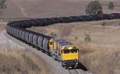 Train Transporting Coal