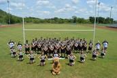 Cheerleaders and Lady Longhorn Kickers