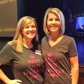 Jamie-Lynn and Marnie modeling our new shirts!
