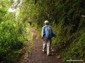 Inca Trail near Santiago