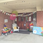 Spring Porch Decorations