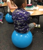 Alternative seating options!