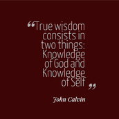 Quote by John Calvin