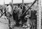 A picture of the Nazi concentration camp