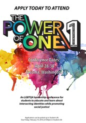 Power of One Conference Application