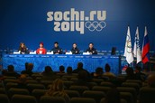 Conference at 2014 Sochi Winter Olympics