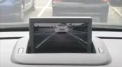 Image caméra de recul sur le GPS d'origine