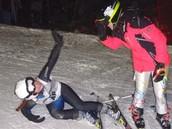 Me Gusta esquiar.