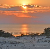Sunset at Roanoke Sound